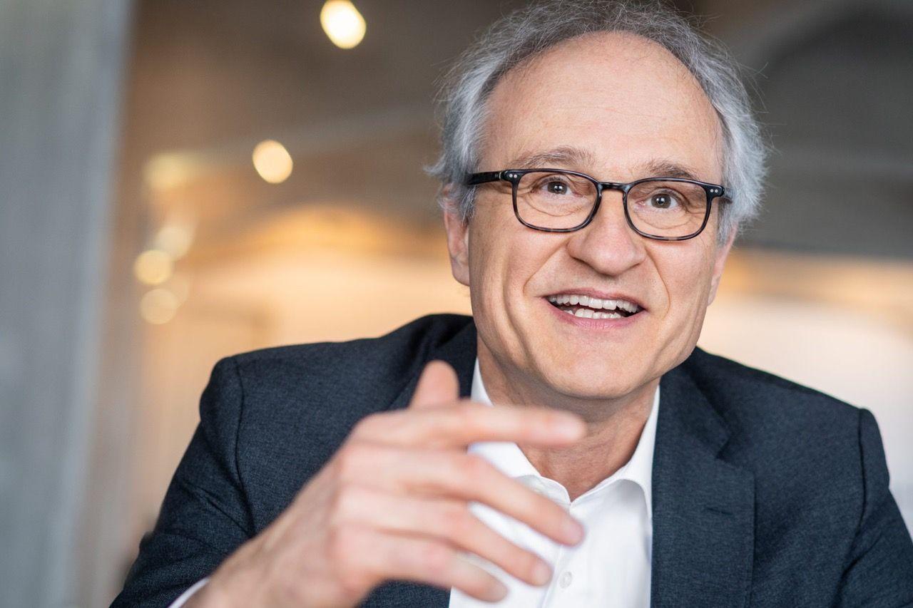 Dr. Stefan Schmitz, Managing Director of the Crop Trust based in Bonn, Germany