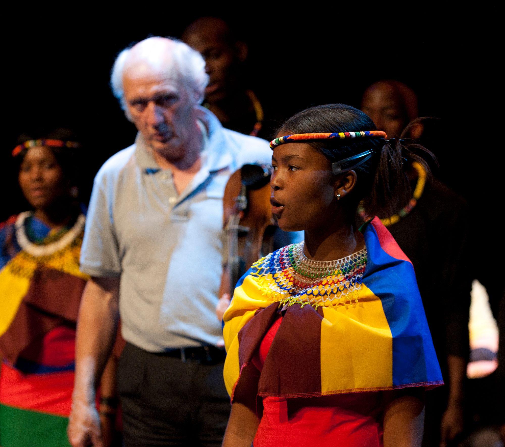 Dutch Singer Herman van Veen uses his music for child rights ©Casper van Aggelen