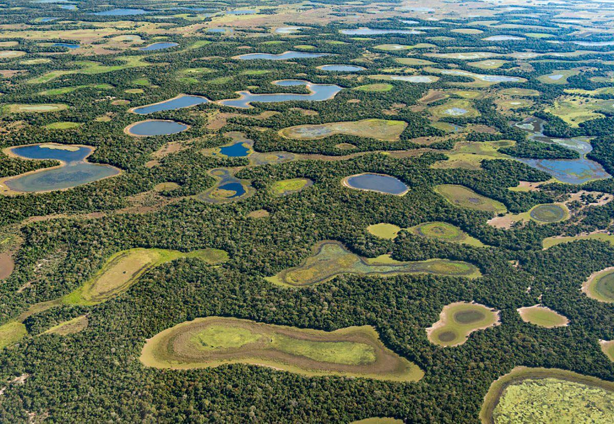 Deforested areas in the Cerrado border area ©Jaime Rocho/WWF-US