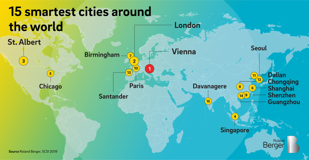 These 15 Smart cities from around the world are improving transportation and accessibility, promoting sustainability and investing on green technology, along with giving its citizens a voice