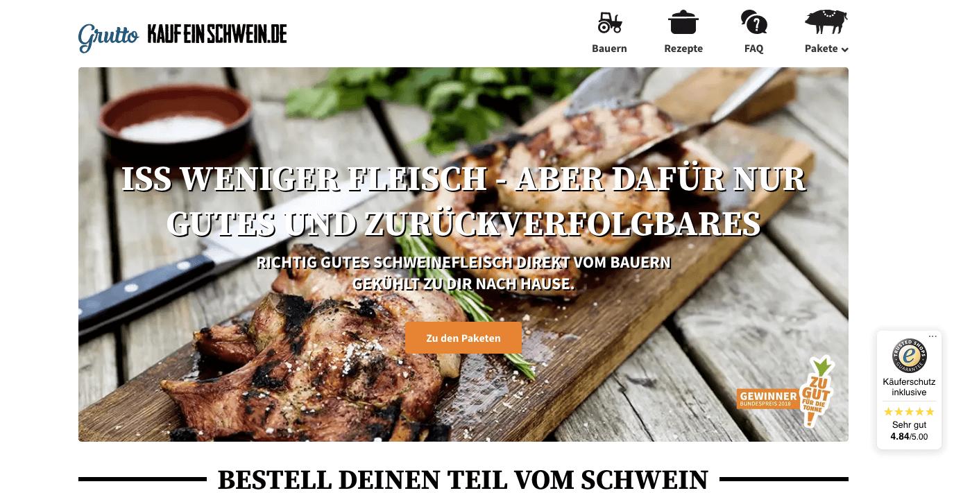 #Kaufeinschwein.de