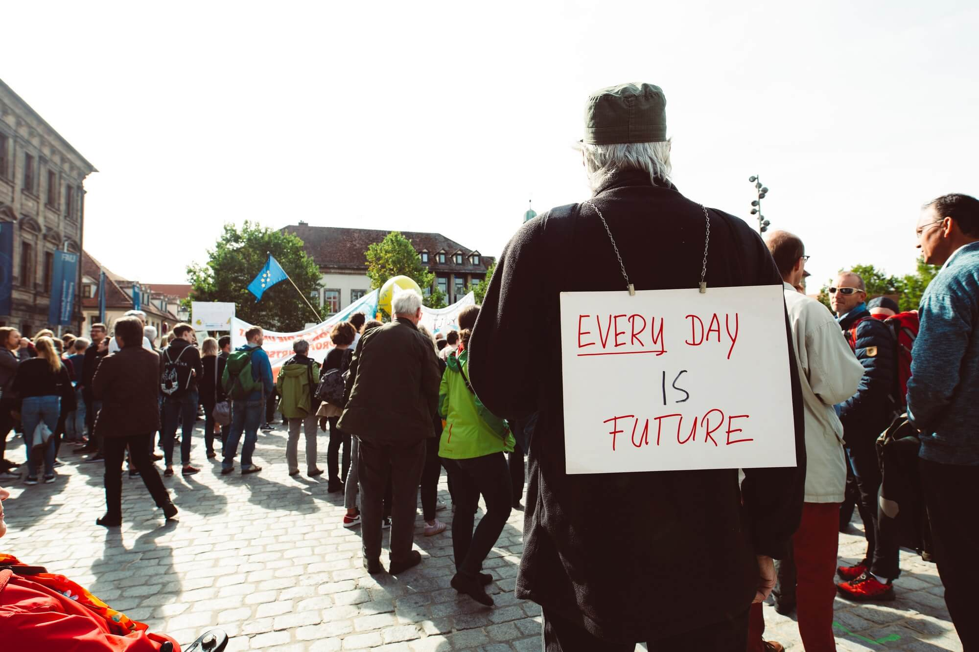 EVERY DAY IS FUTURE. Global climate change strike - No Planet B - Global Climate Strike 09-20-2019